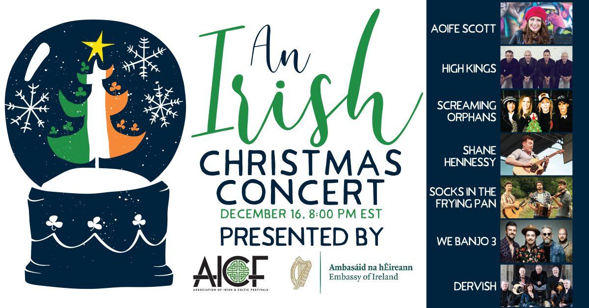 irish christmas concert